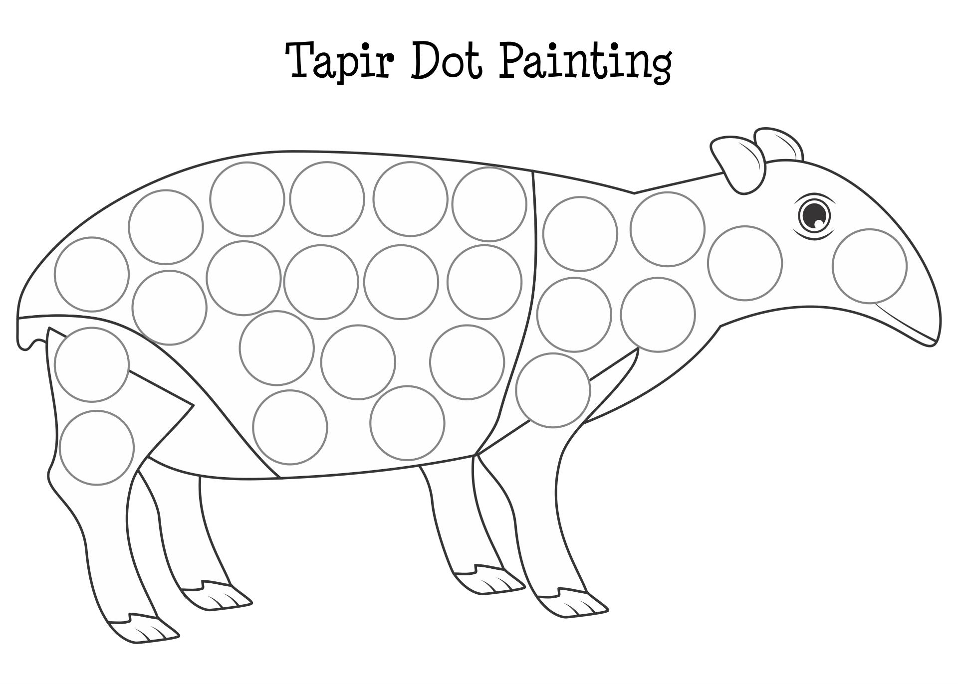 Bingo Dot Art Printables