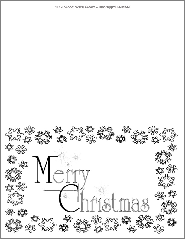 9 Images of Black And White Christmas Printables