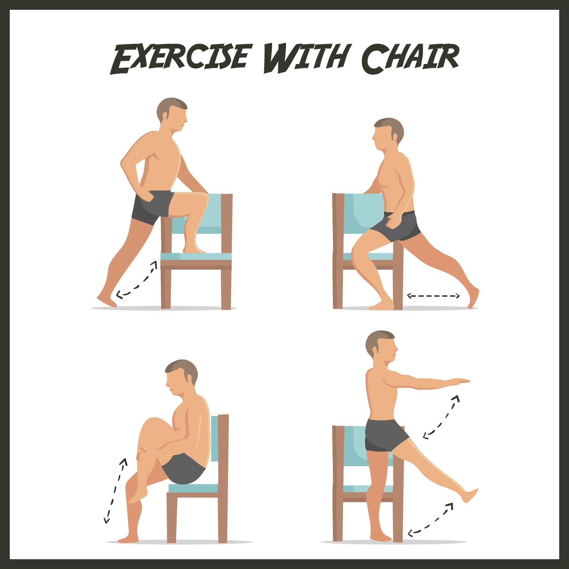 Chair Leg Exercises Seniors
