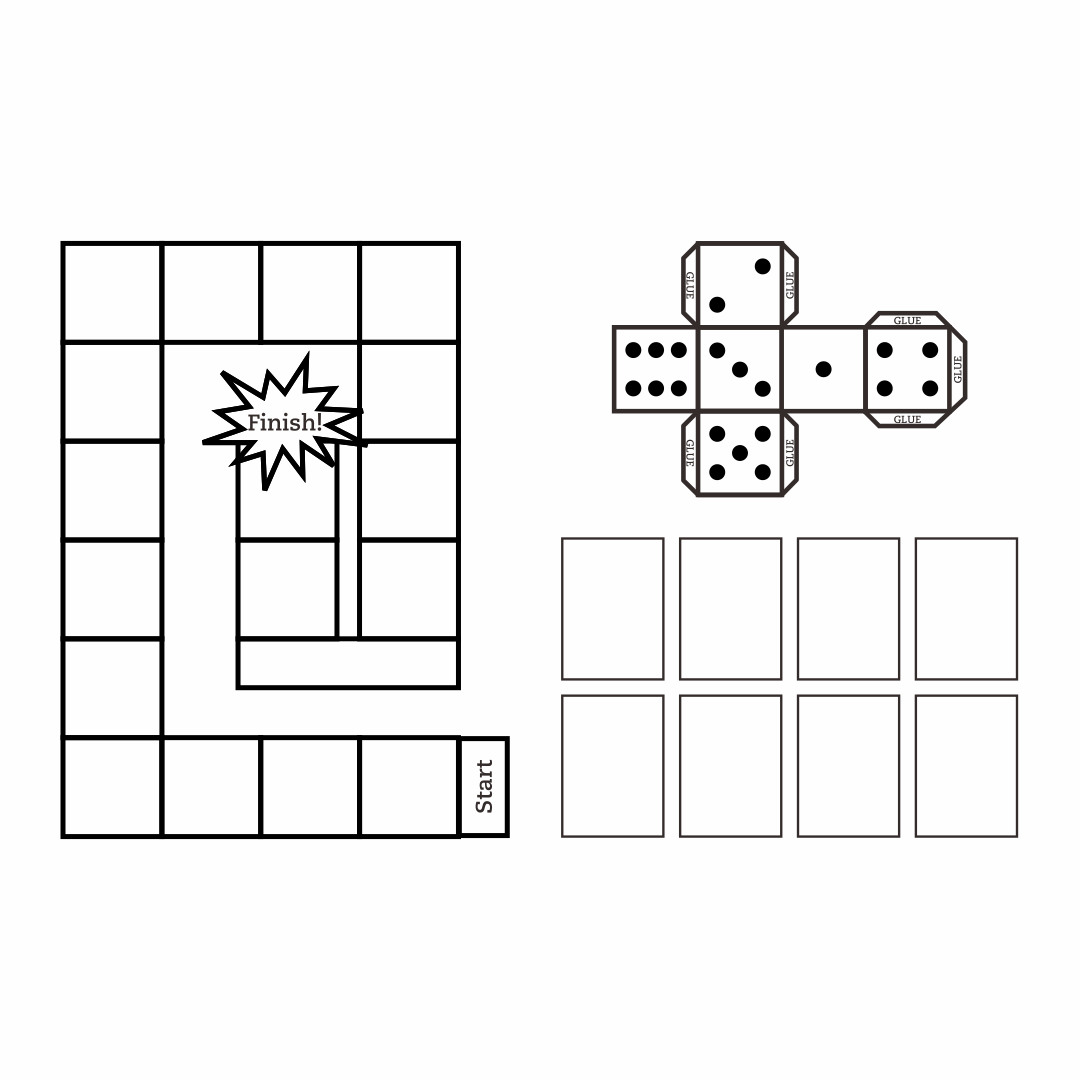 Create Your Own Game Board Template