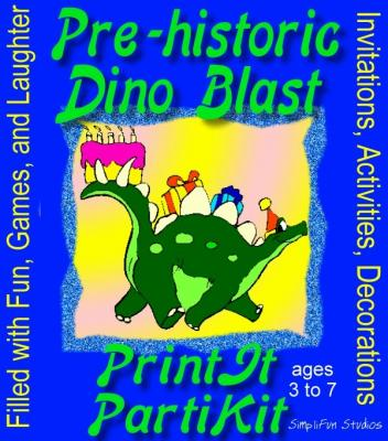 8 Images of Dinosaur Birthday Printable Fun Games