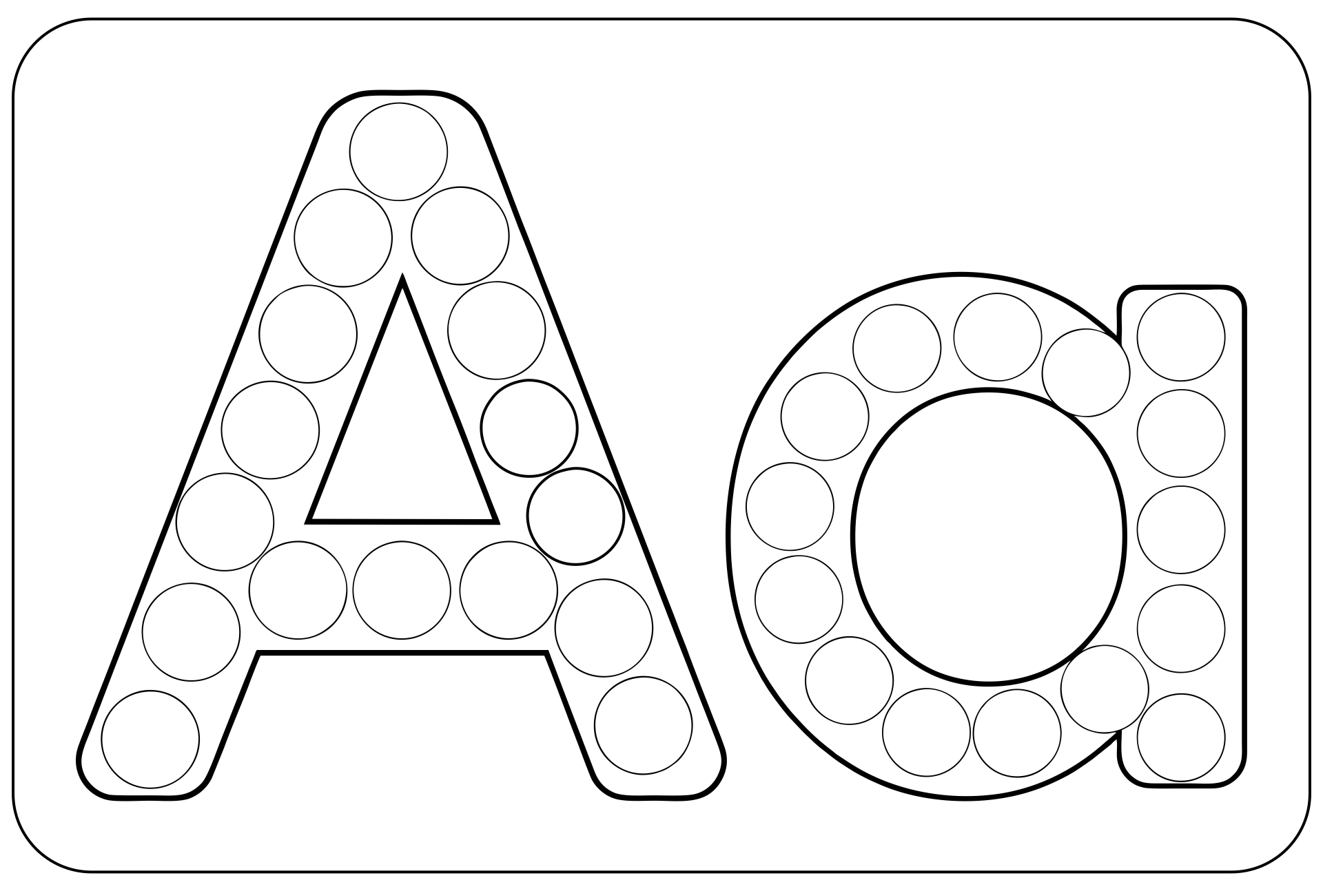 9 Images of Free Preschool Do A Dot Printables Letter N
