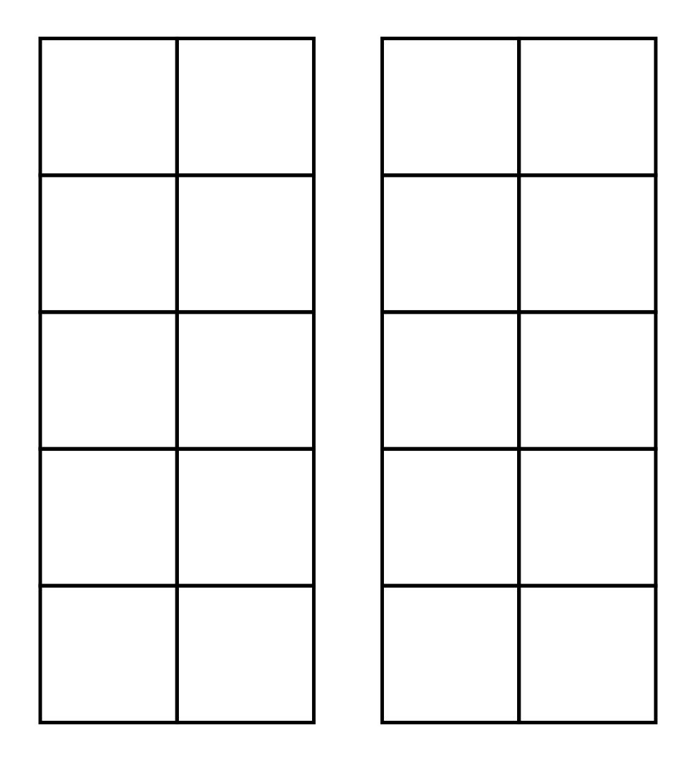 5 Images of 10 Frames Free Printables