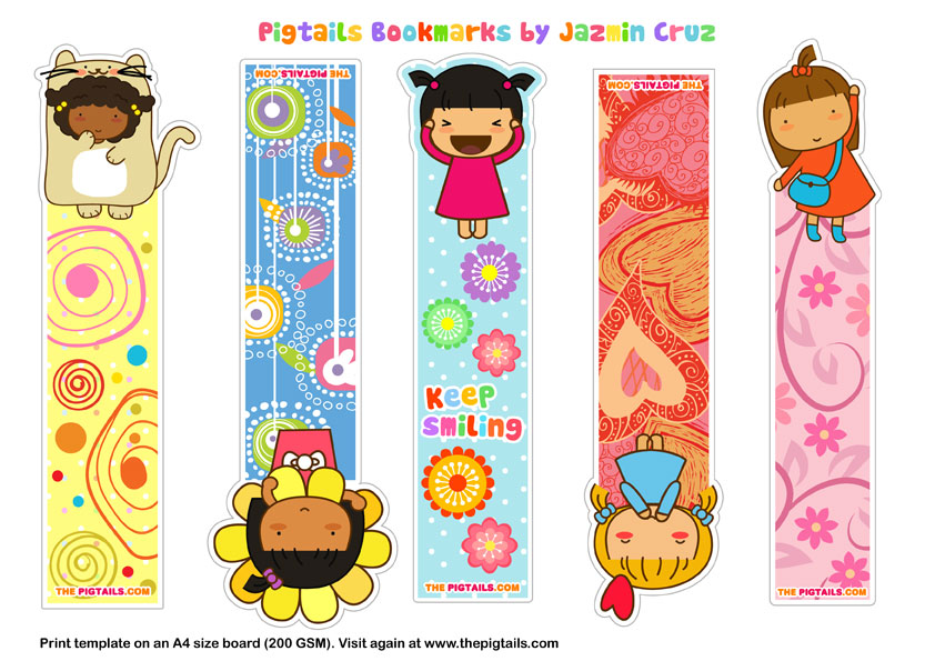 Free Cute Printable Bookmarks