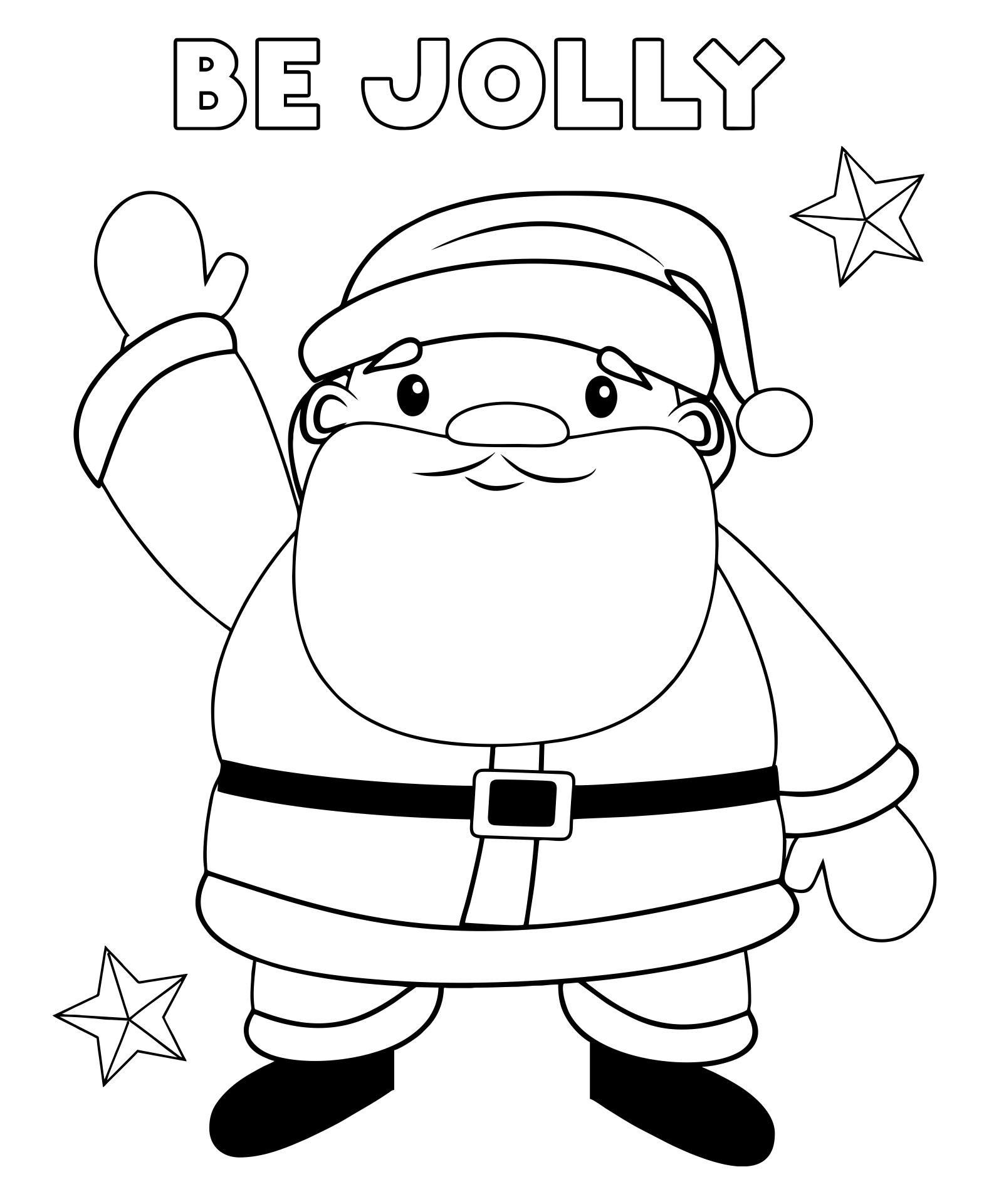Preschool Christmas Printables