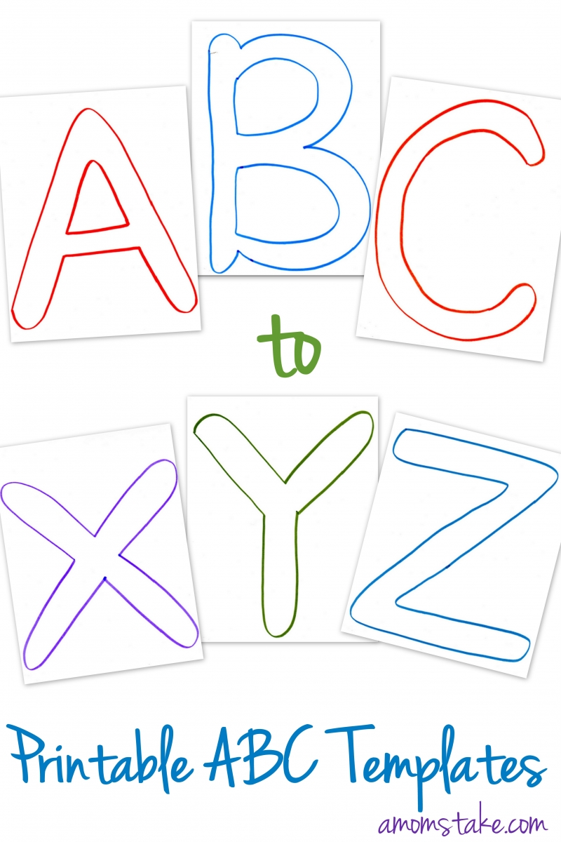 5 Images of ABC Book Printable Template