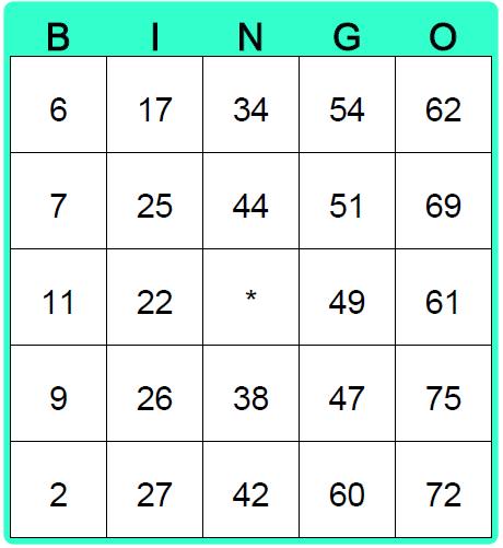 8 Images of Printable Bingo Card Generator