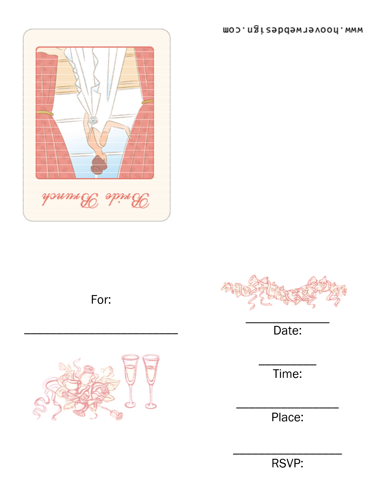7 Images of Free Printable Brunch Invitations
