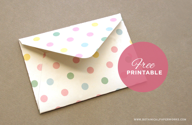 8 Images of Cute Printable Envelopes