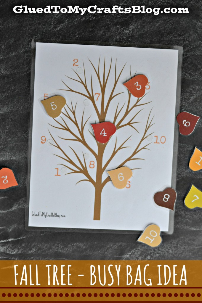 6 Images of Printable Fall Tree Craft