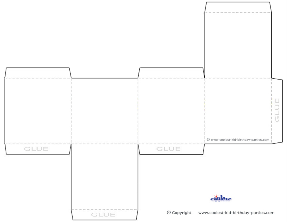 8 Images of Free Printable Box Templates