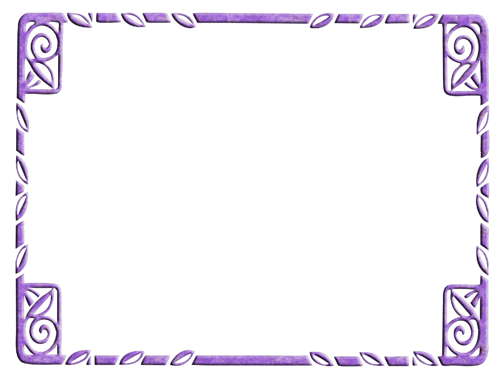 Free Printable Purple Borders and Frames