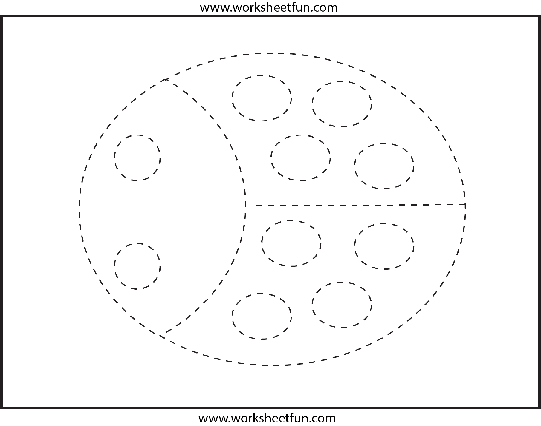 7 Best Images Of Preschool Tracing Worksheets Free