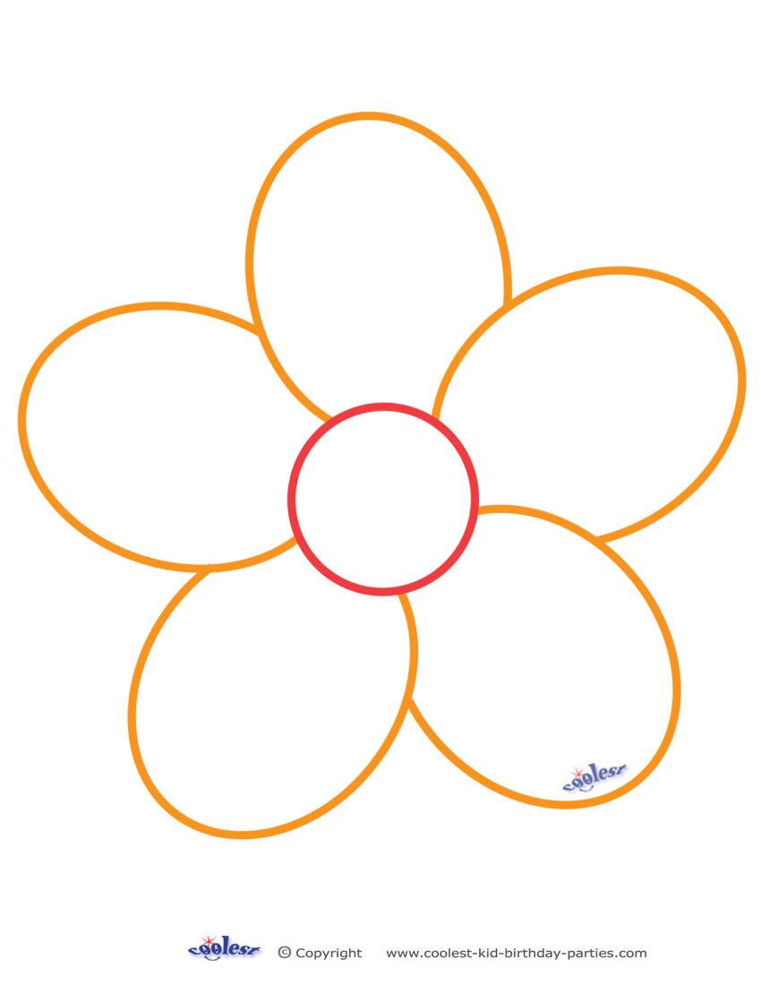 Free Spring Flower Stencils Printable