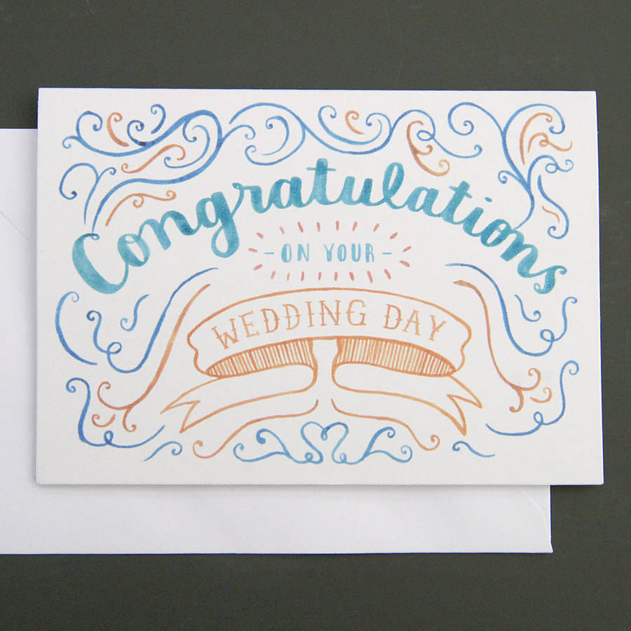 8 Best Images of Wedding Congratulations Cards Printable ...