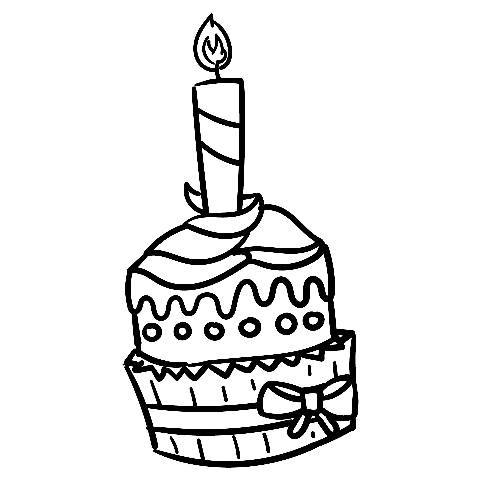 5 Best Images of Printable Birthday Cupcake Outlines ...