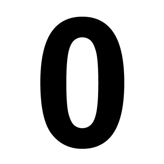 6 Best Images of Large Printable Numbers 0 - Large Number ...