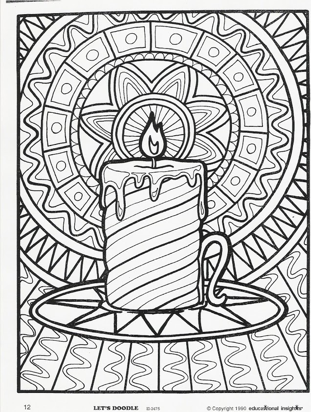6 Images of Printable Doodle Coloring Pages