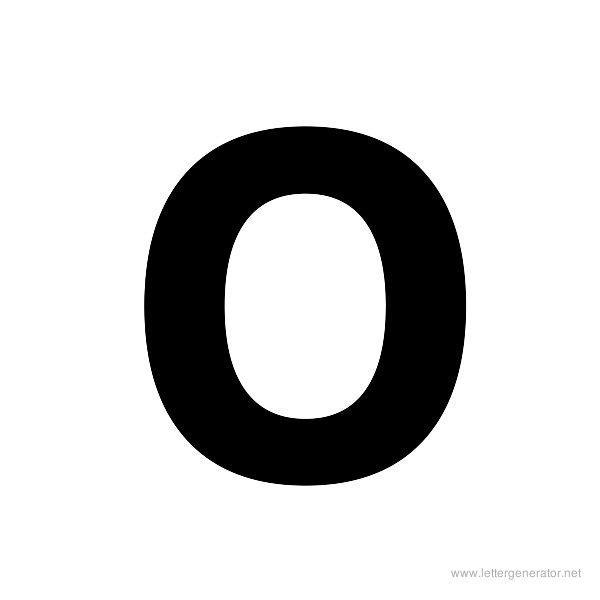 Printable Bold Letters Alphabet