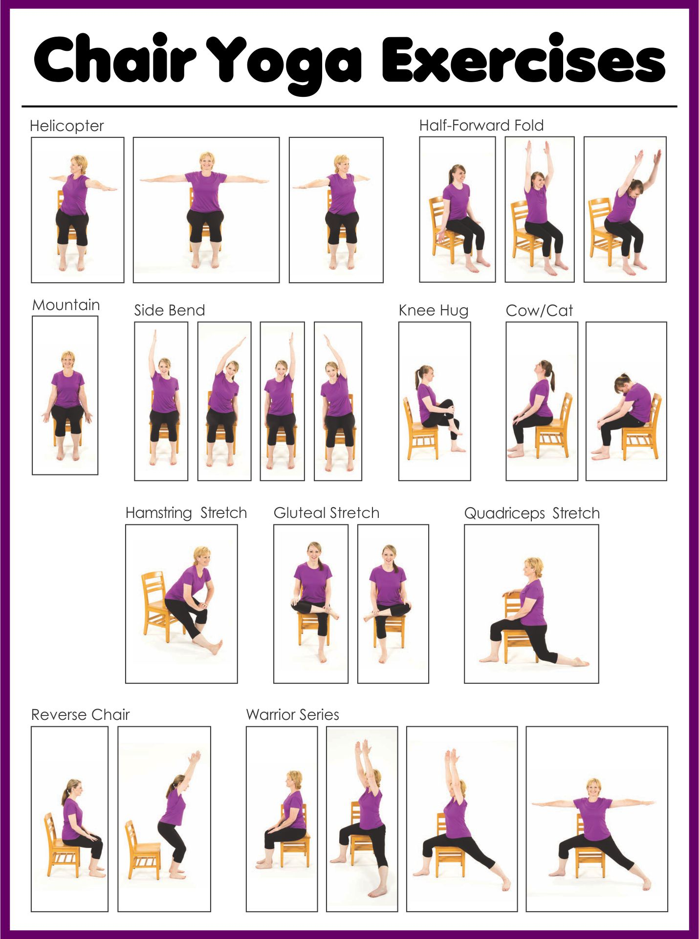 9 best printable chair exercises for seniors  printablee
