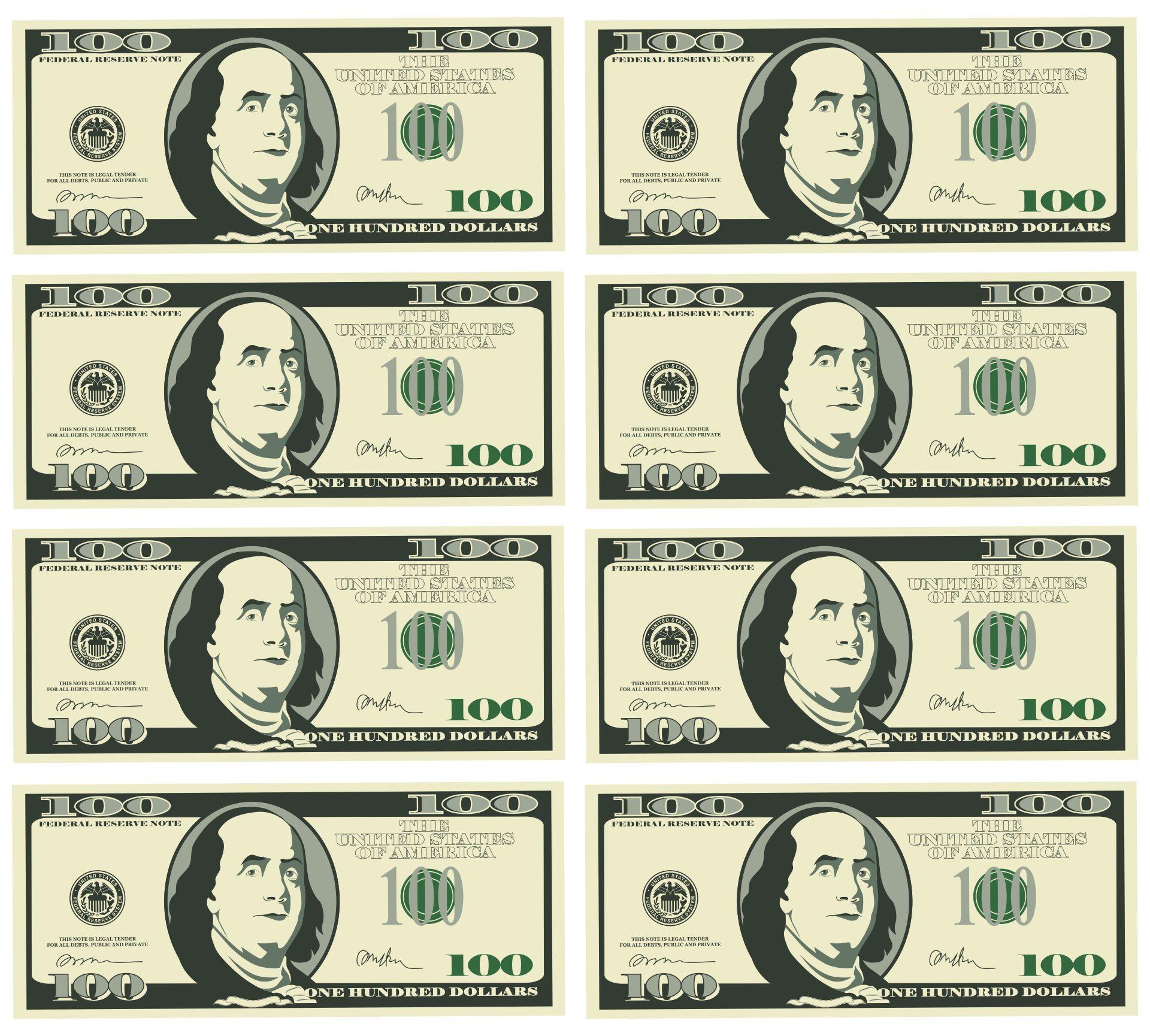 Printable Fake Money Dollar