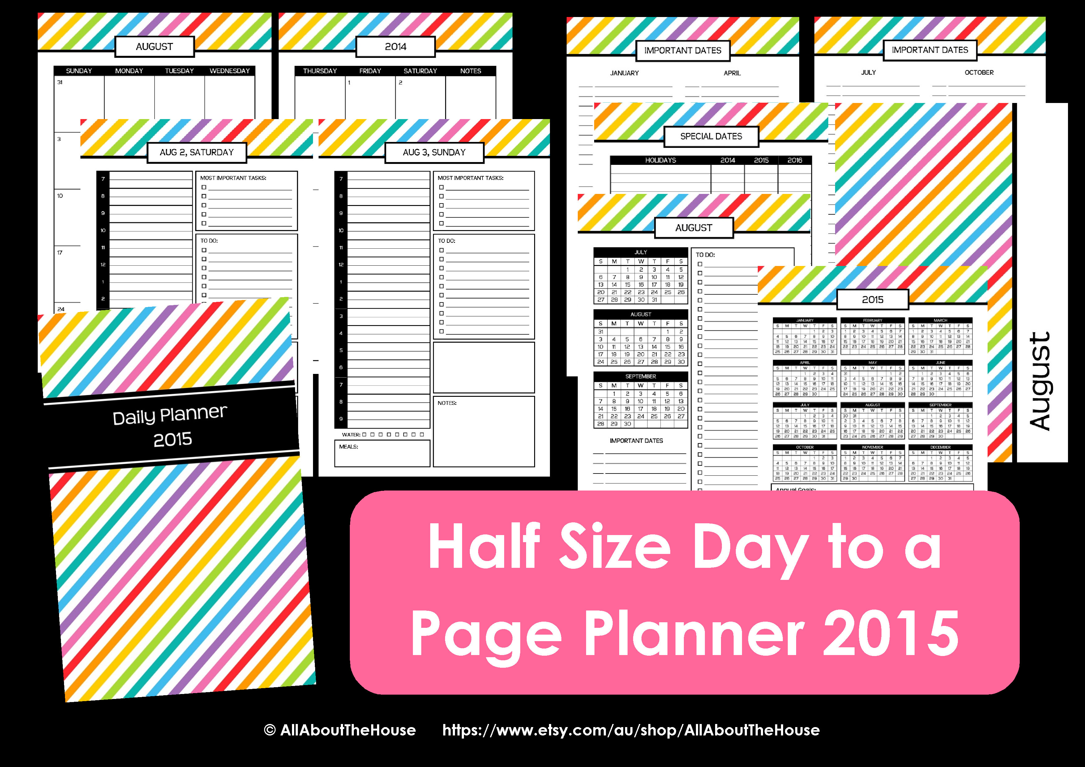 7 Images of Mom Planner Organizer Printable PDF