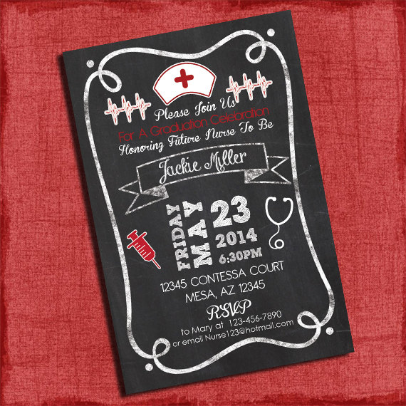5 Best Images of Nurse Graduation Party Printables Free ...