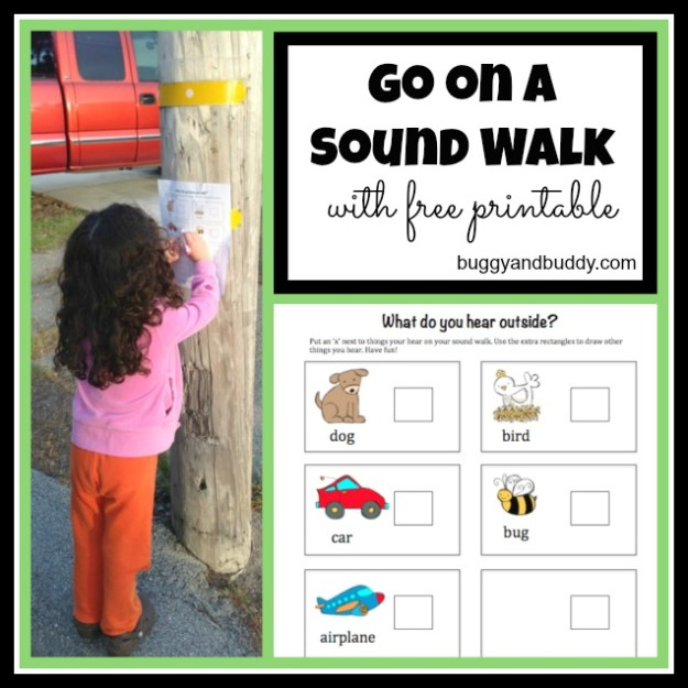 Printable Outdoor Scavenger Hunt for Kids