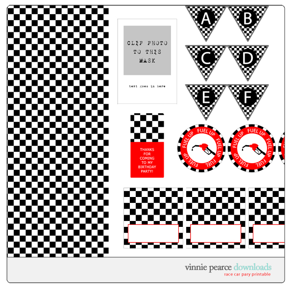 5 Images of Free Race Car Printables