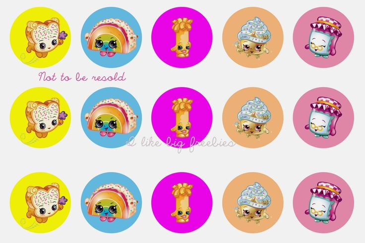 6 Images of S Hopkins Free Printable Cupcake Toppers