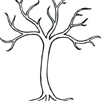 7 Best Images Of Printable Tree Without Leaves Coloring Coloring Pages Of Trees Without Leaves