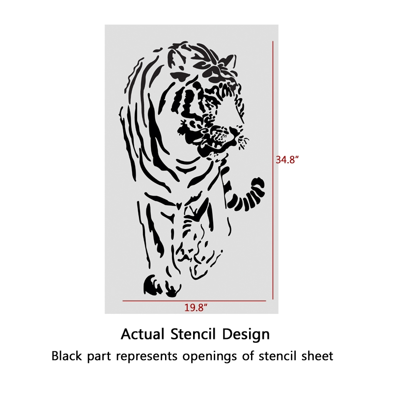 9 best images of diy wall art stencils printable animal for Wall art templates free