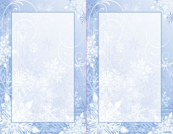 winter invitation templates free