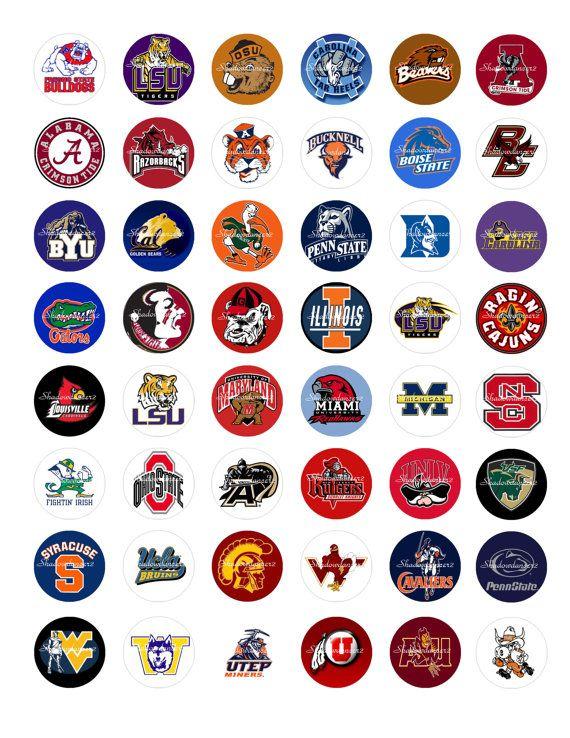 All College Football Team Logos