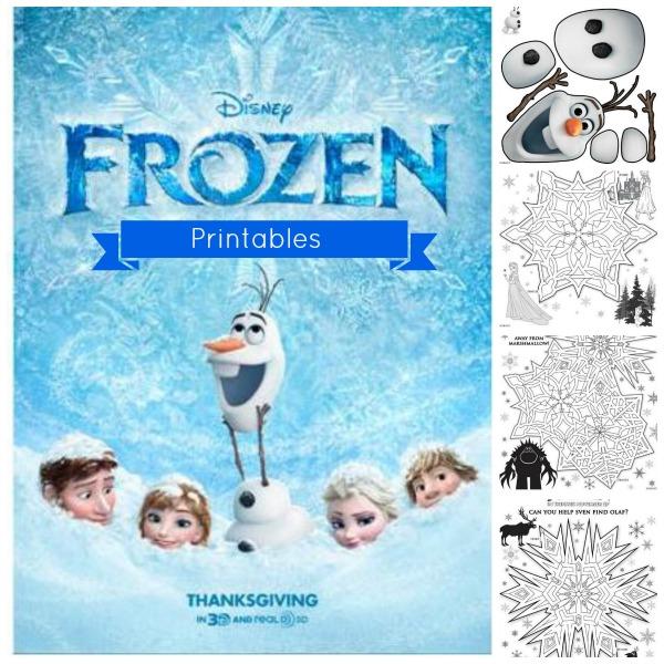 6 Images of Frozen Disney Printable Stuff