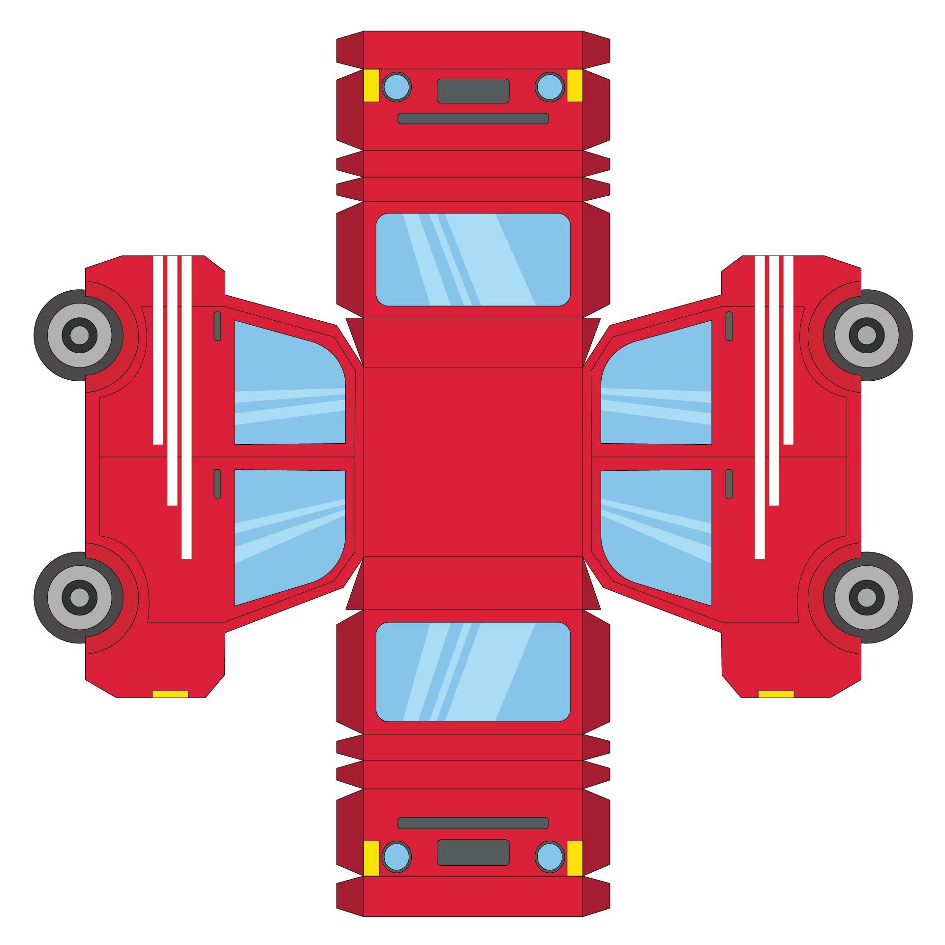 Car Paper Model Templates