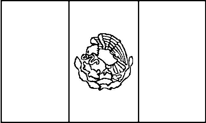 5 Images of Mexico Flag Coloring Page Printable