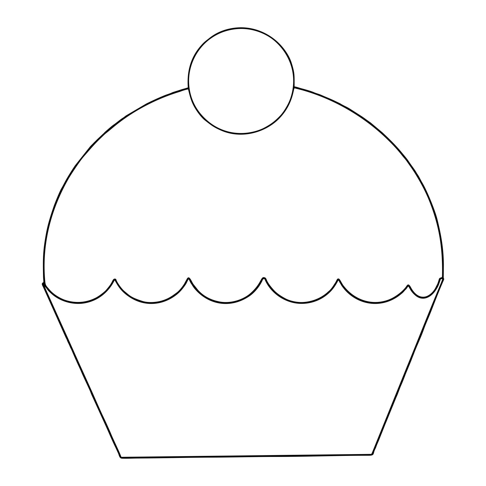 Cupcake Templates Cutouts