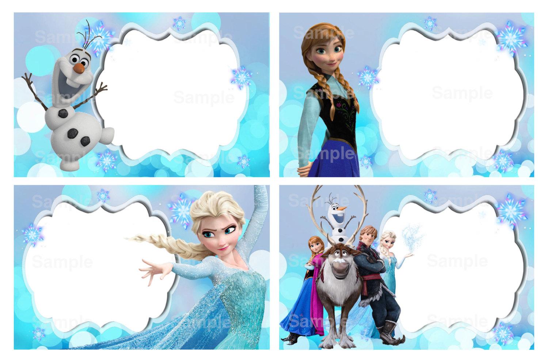 Disney Frozen Food Labels