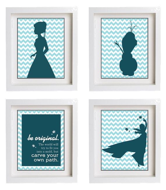 Disney Frozen Room Decor
