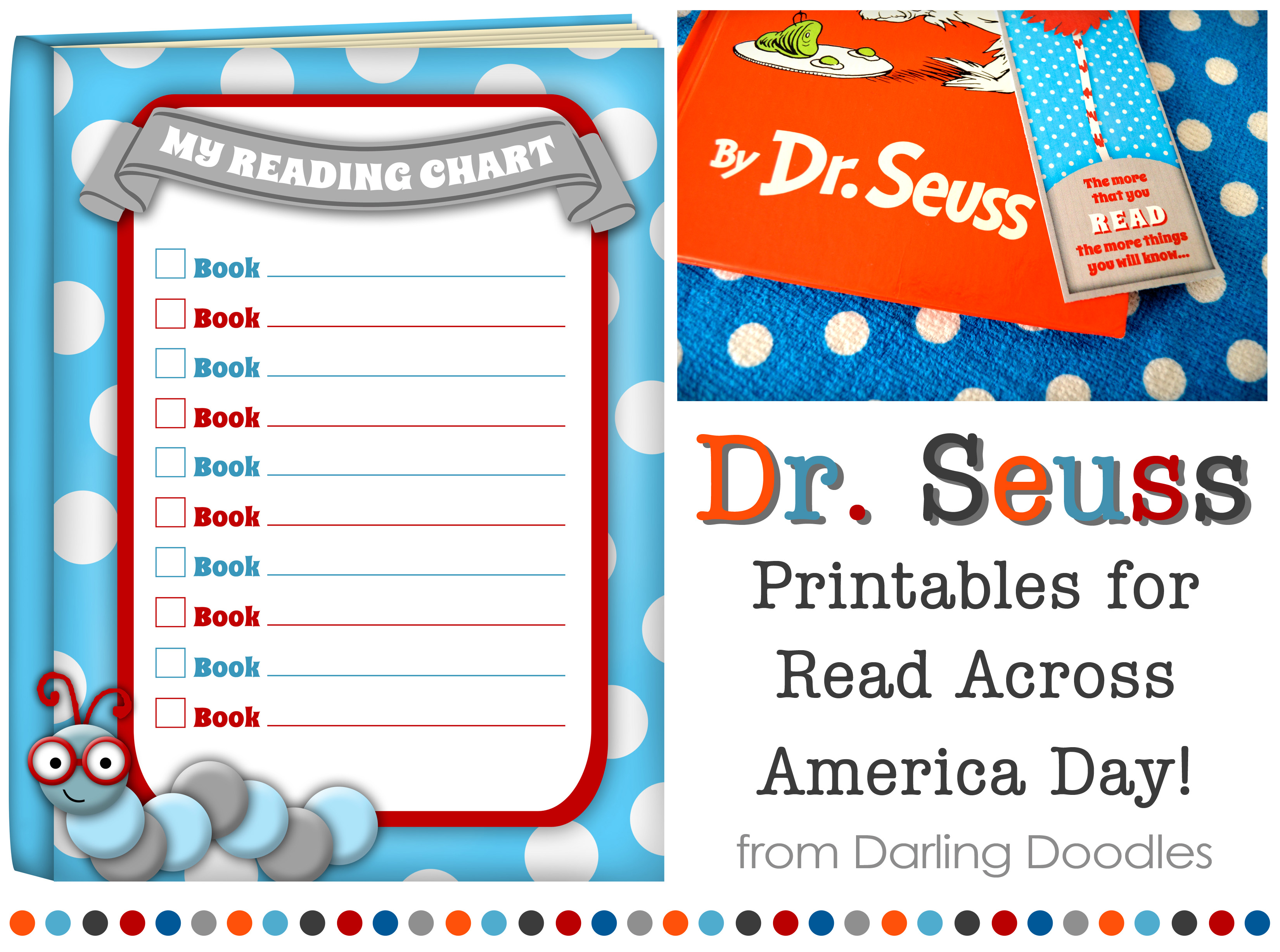 4 Images of Read Across America Printables