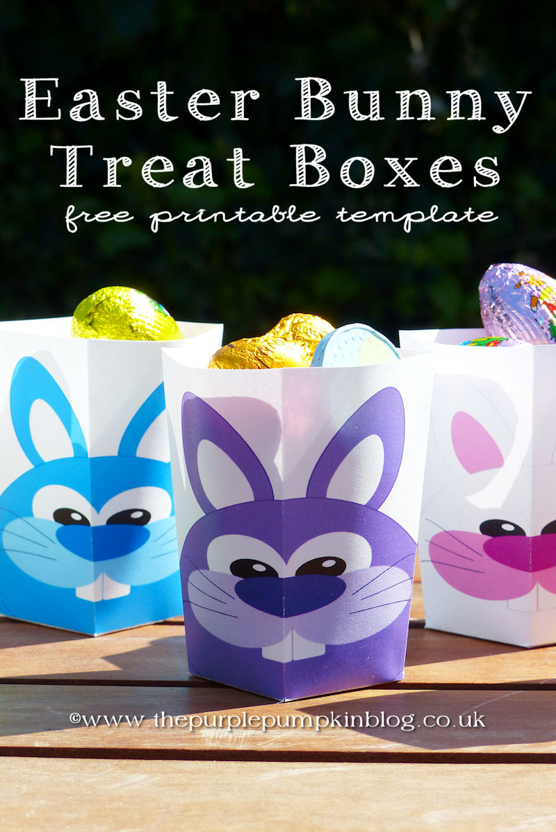 9 Images of Printable Treat Boxes