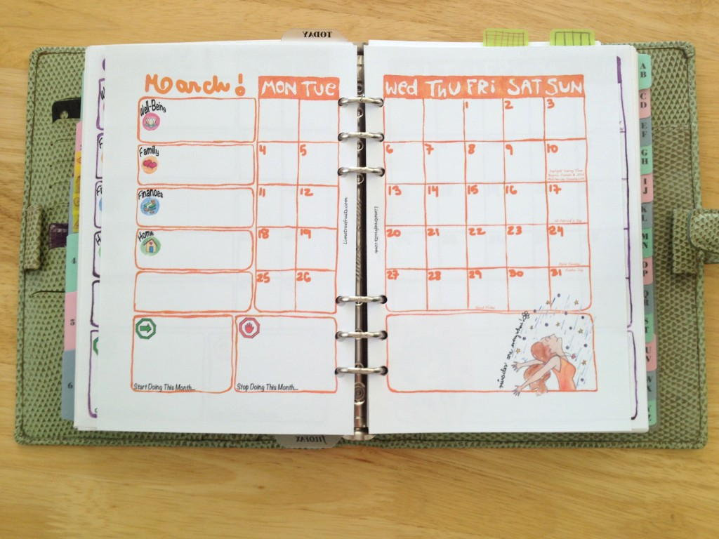 8 Images of Filofax A5 Printables