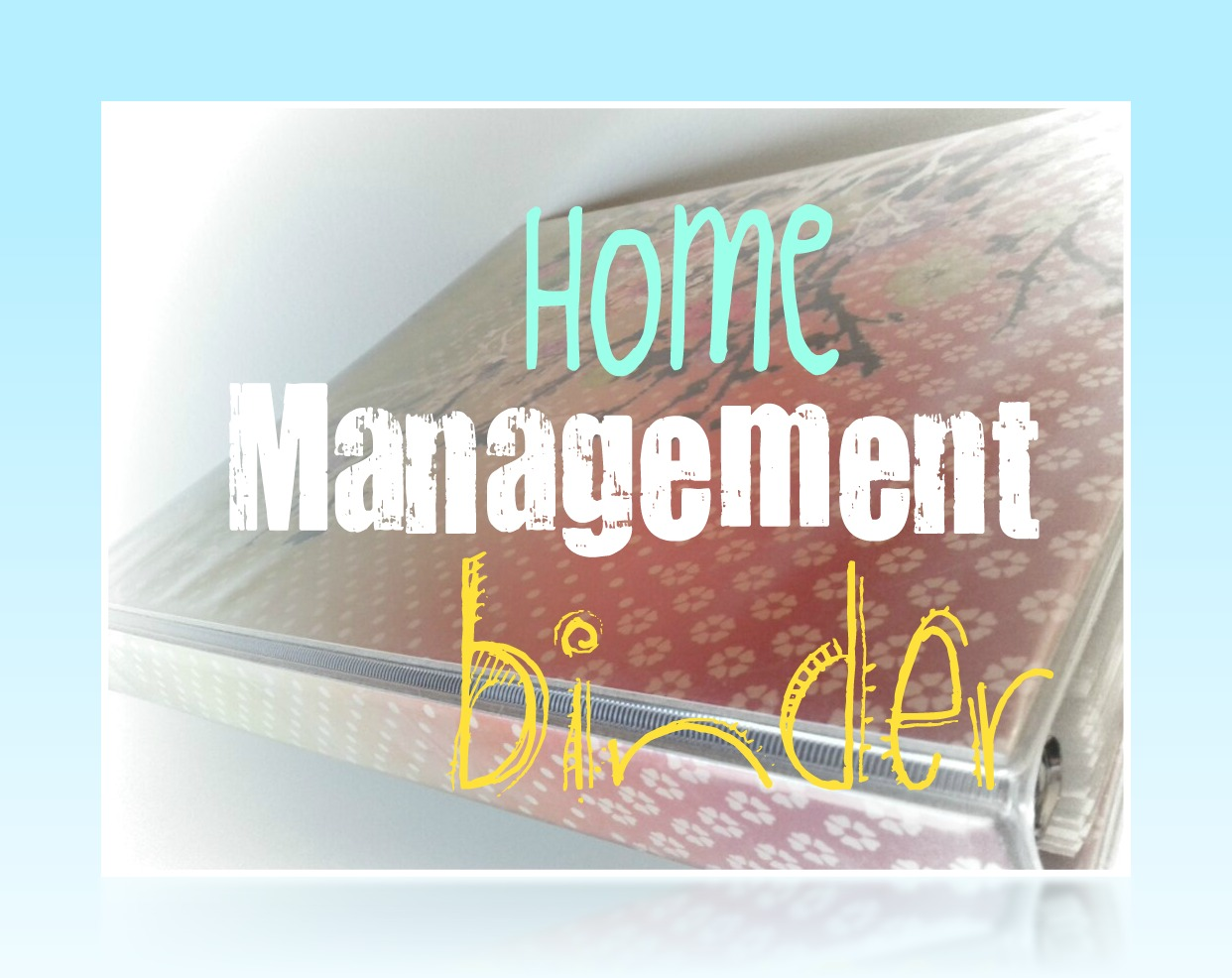 5 Images of Printables Home Management Binder Finances