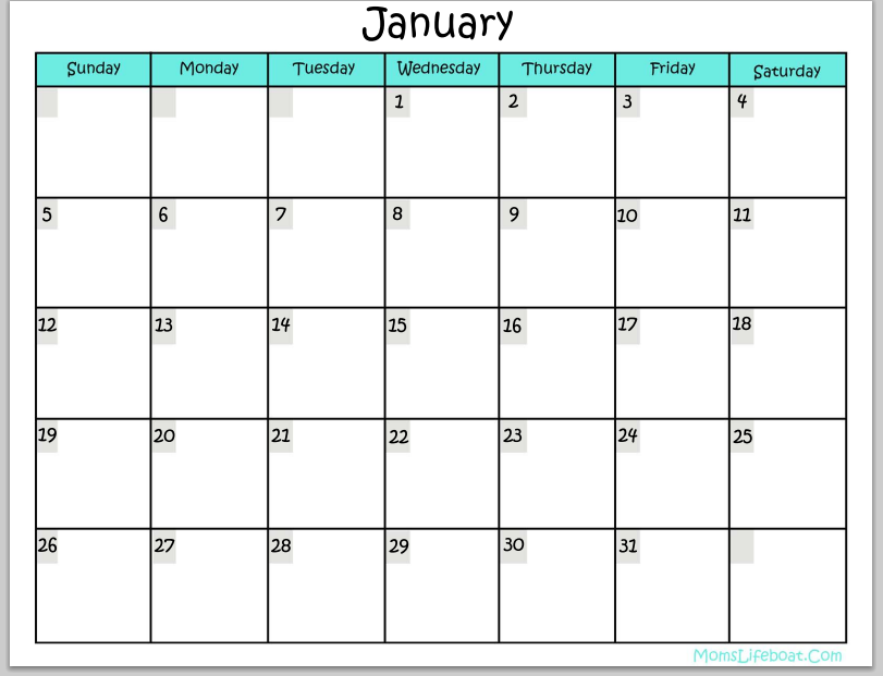 ... Monthly Calendars and 12 Month Calendar Template 2015 / printablee.com