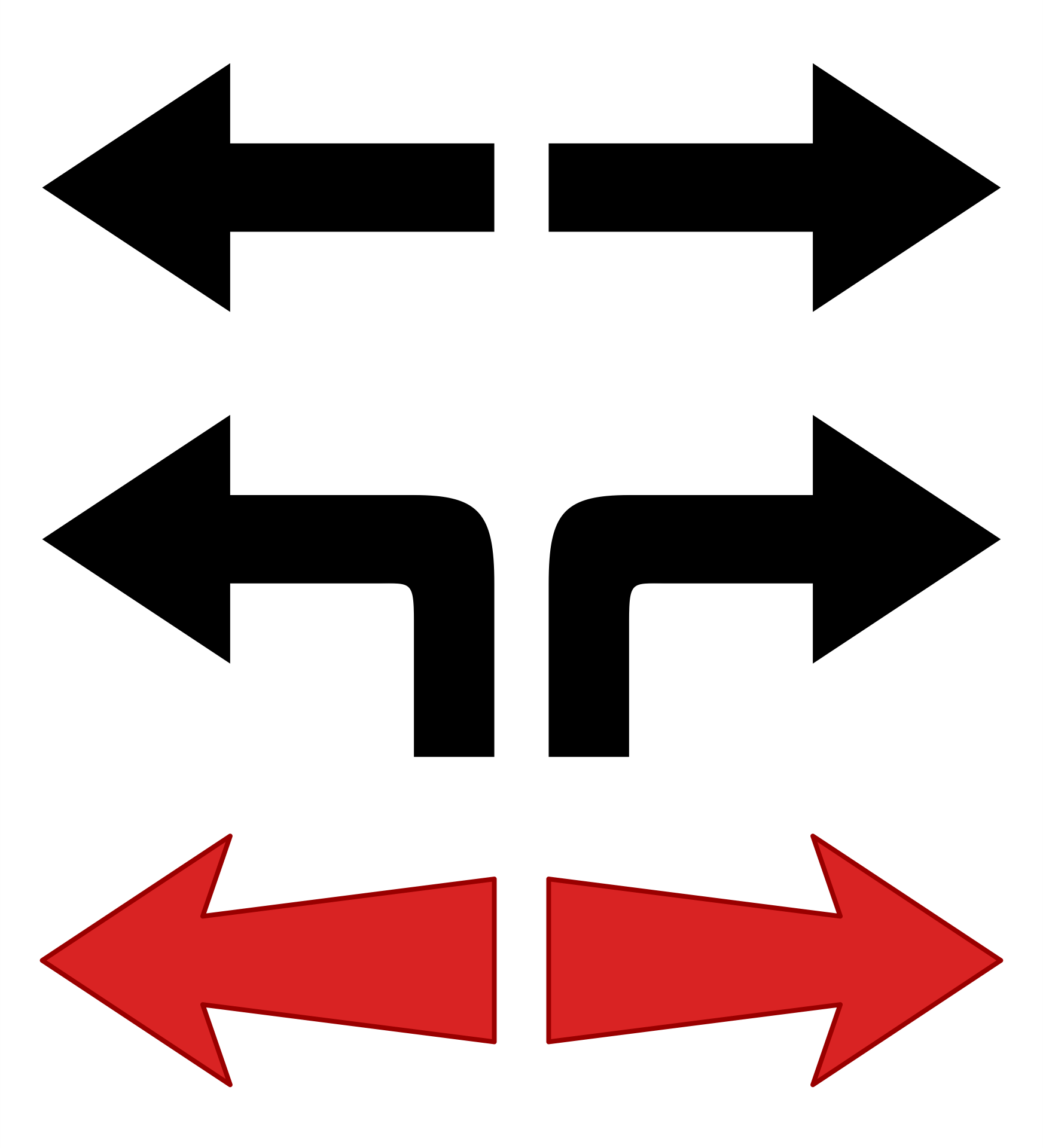 Printable Arrow Template