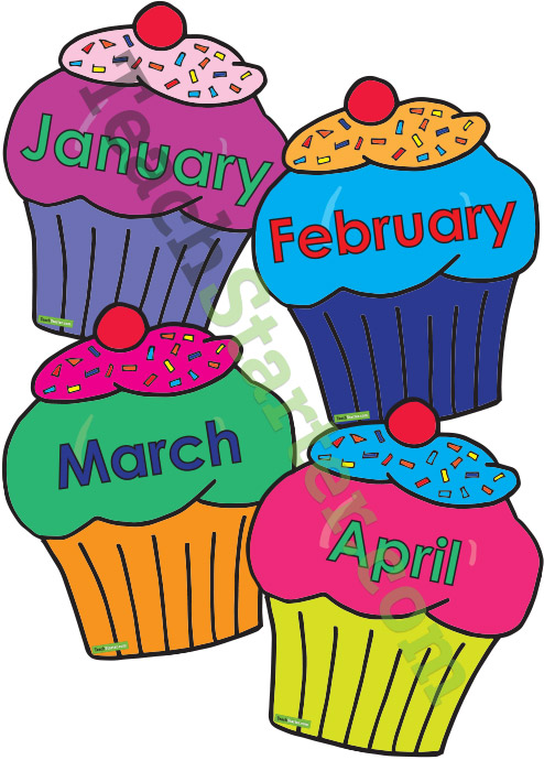 See Preschool Birthday Chart Printable, Classroom Birthday Chart for ...