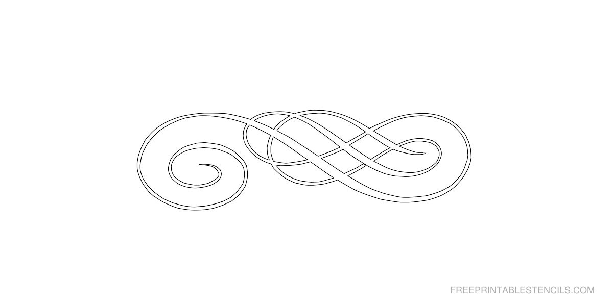 Free Printable Border Stencil Designs
