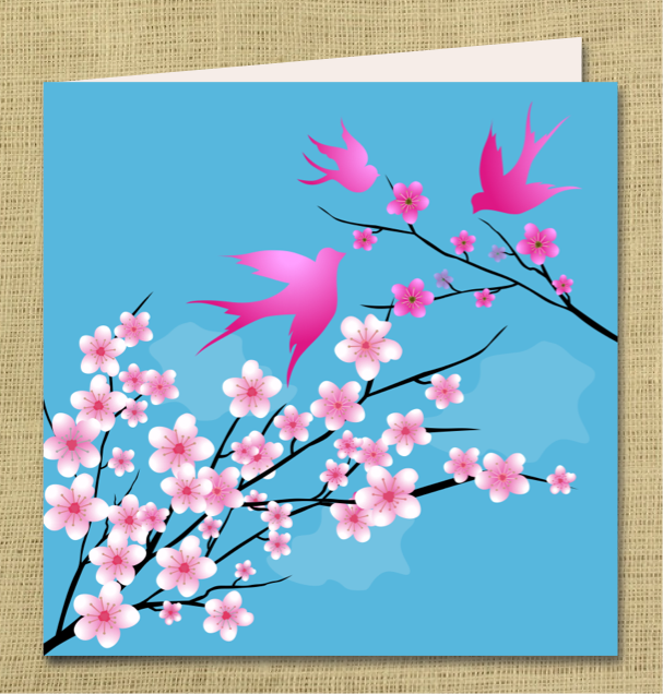 7 Images of Cherry Blossom Printables