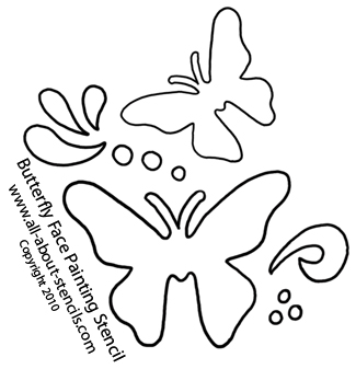6 Images of Face Painting Stencils Printable